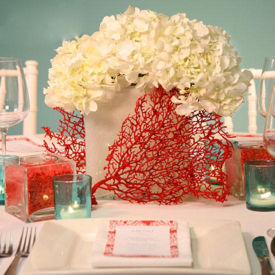 Подарок на коралловую свадьбу своими руками